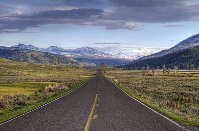 Mountain Road Art Print by DBushue Photography