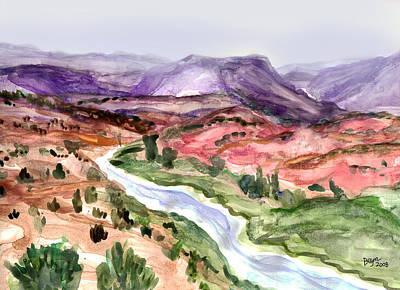 Painting - Mountain Splendor by Clara Sue Beym