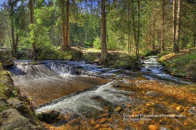 Photograph - Mountain Stream by Sean Allen
