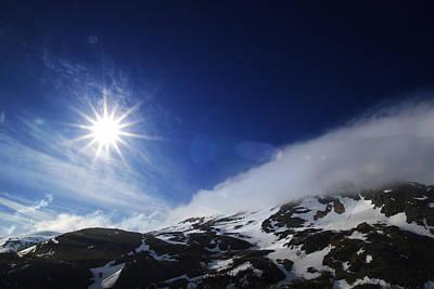 Roaring Red - Mountain Sun by Michele Cornelius