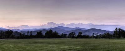 Mountain Sunset - North Carolina Landscape Art Print by Rob Travis