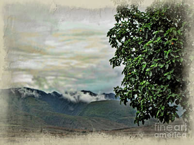 Mountain Time Art Print by Joan  Minchak
