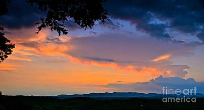 Photograph - Mountain Twilight by Carol  Bradley