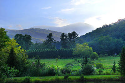 Photograph - Mountain Valley In The Summer by Duane McCullough