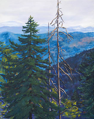 Painting - Mountain View by Donna Drake