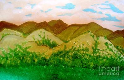 Painting - Mountain View Of Ecuador by Josie Weir