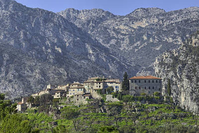 Village In France Photograph - Mountain Village by Al Hurley
