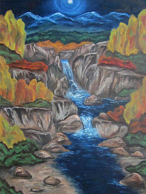 Mountain Waters Art Print