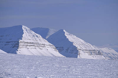 Mountains Above Kings Glacier Art Print by Gordon Wiltsie