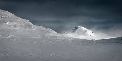 Y120907 Photograph - Mountains At Finse by F. Verhelst, Papafrezzo Photography