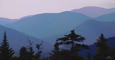 Photograph - Mountains On The Kank by Nancy Griswold