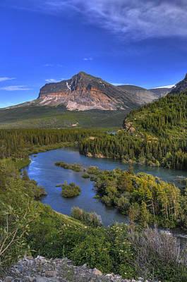 Photograph - Mountana Wilderness by Don Wolf