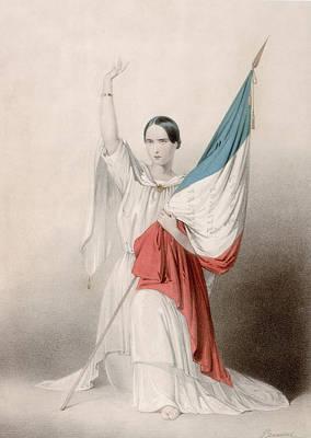 Mourir Pour La Patrie Art Print by Hulton Archive
