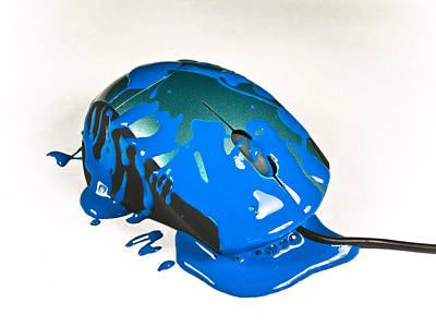 Mouse Blu Original by Silvino Beschi