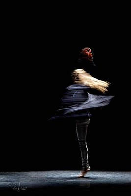 Photograph - Moved Dance. by Raffaella Lunelli