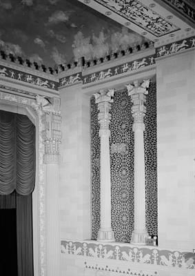 Movie Theaters, Missouri Theater Art Print by Everett