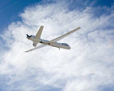 Mq-9 Reaper Spyplane Art Print by Nasadfrc