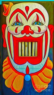 Mr. Clown Teeth Art Print by Gregory Dyer