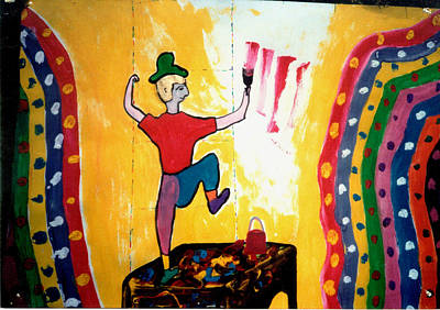 Painting - Mr. Colorman by Eliezer Sobel