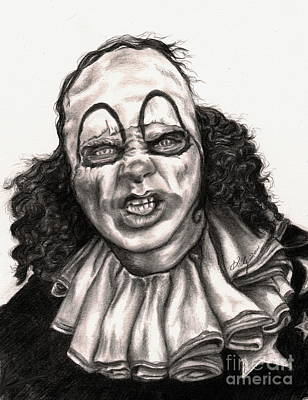 Portaits Drawing - Mr. Jelly by Kathleen Kelly Thompson