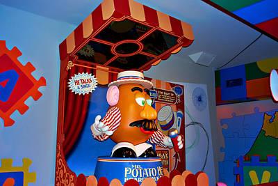 Mr. Potato Head Print by Malania Hammer