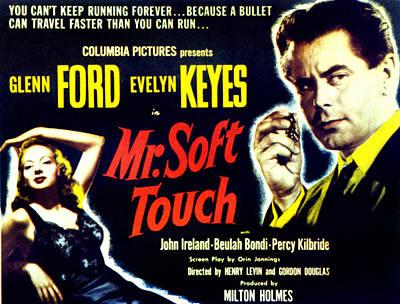 Mr. Soft Touch, Evelyn Keyes, Glenn Art Print