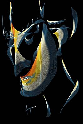 Digital Esoteric Digital Art - Mr. Spock by Hayrettin Karaerkek