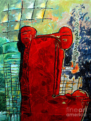 Mr.bigs Red Chair Original by Charlie Spear