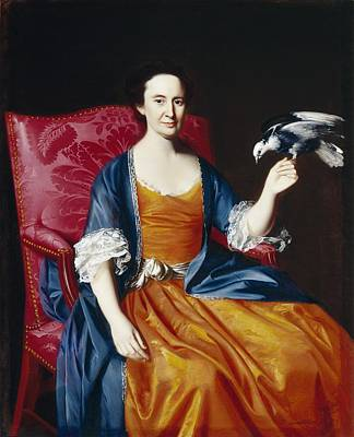 Mrs. Benjamin Hallowell Art Print by John Singleton Copley