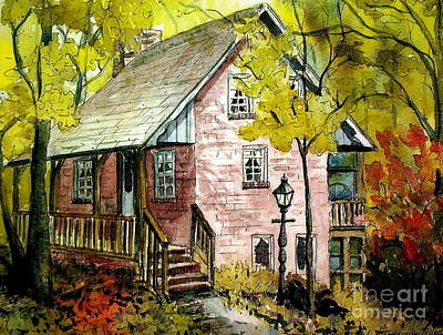 Painting - Mrs. Henry's Home 2 by Gretchen Allen