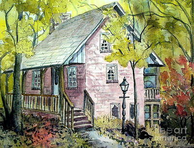 Painting - Mrs. Henry's Home by Gretchen Allen
