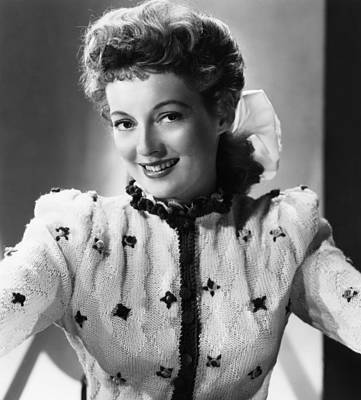 1949 Movies Photograph - Mrs. Mike, Evelyn Keyes, 1949 by Everett