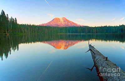 Mt. Adams Alpenglow Original