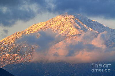 Photograph - Mt. Baldy by Johanne Peale