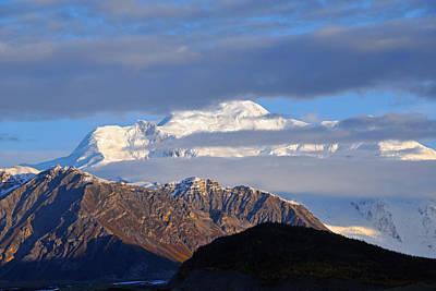 Photograph - Mt. Blackburn Clearing by Alan Lenk
