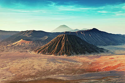 Mt. Bromo, Indonesien Close-up Art Print by Daniel Osterkamp