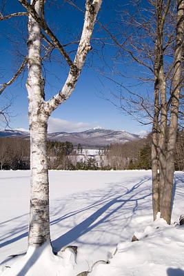 Mt. Chocorua Winter Vertical Art Print