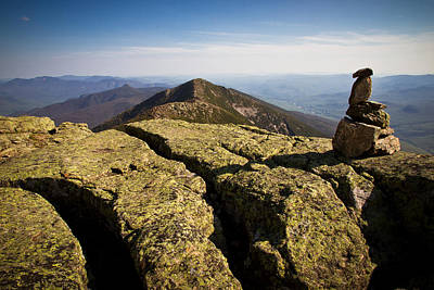 Photograph - Mt. Lafayette South View by Robert Clifford