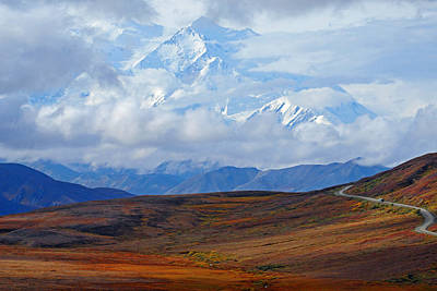 Photograph - Mt. Mckinley by Alan Lenk