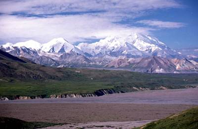 Photograph - Mt Mckinley by Lynnette Johns