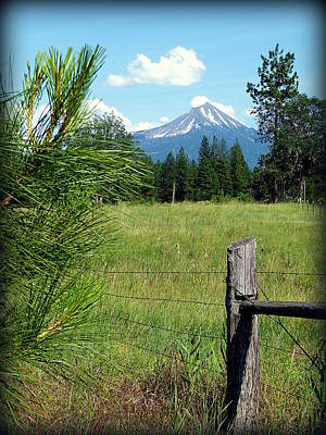 Photograph - Mt. Mclaughlin by Cindy Wright
