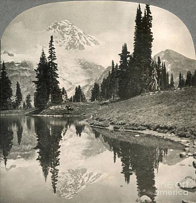 Photograph - Mt. Rainier, C1920 by Granger