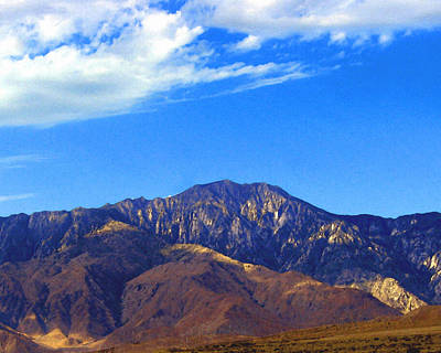 Digital Art - Mt. San Jacinto by Timothy Bulone
