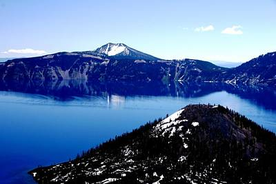 Photograph - Mt. Scott Crater Lake by Michael Courtney
