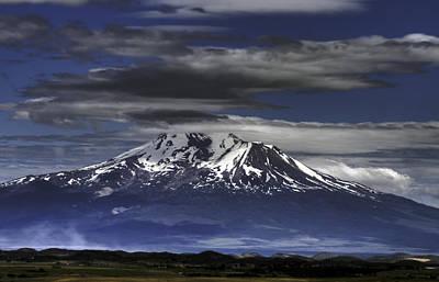 Mt Shasta Original by Dawn Reamey