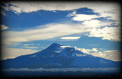 Photograph - Mt. Shasta by Marilyn Wilson