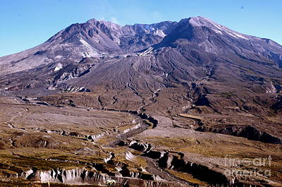Photograph - Mt. St. Helens by Johanne Peale