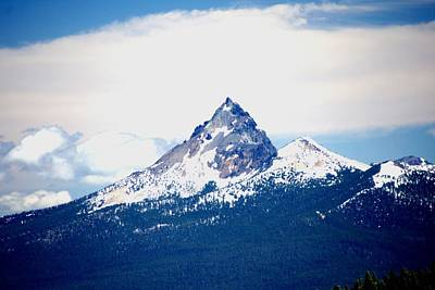 Photograph - Mt. Thielsen by Michael Courtney