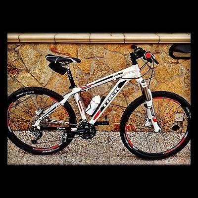 Mtb Photograph - #mtb #trek #mountainbike #bike #bicycle by Andrea  Ortu 🇮🇹