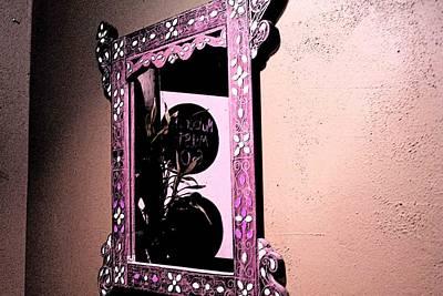 Art Print featuring the photograph Mubarak Must Go Reflected And Semi-veiled by Carolina Liechtenstein